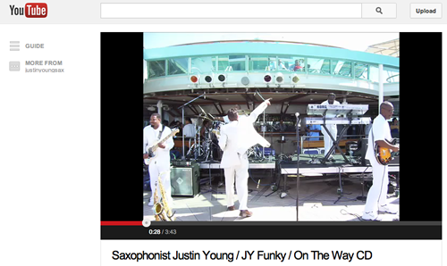 JY Funky YouTube Video